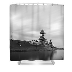 Battleship Texas Shower Curtain