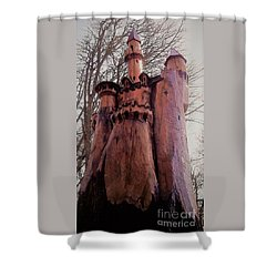 Bavarian Castle Shower Curtain