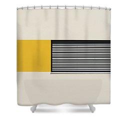 Bavarian Minimal 2 Shower Curtain