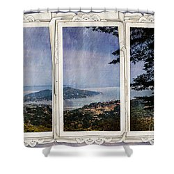 Bay Area Shower Curtain by Judy Wolinsky