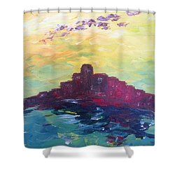 Bay City Skyscape Shower Curtain
