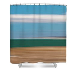 Bay Cloud Shower Curtain
