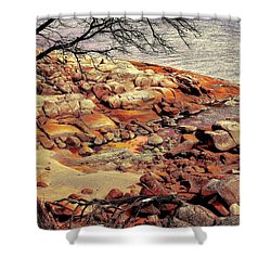 Bay Of Fires 7 Shower Curtain by Wallaroo Images