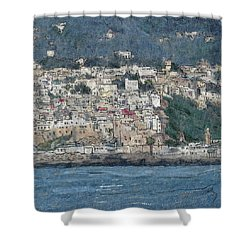 Bay Of Tangier Shower Curtain