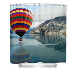 Bay Skimmer Shower Curtain