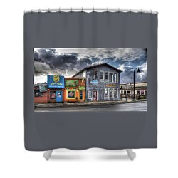 Bay Street Morning Shower Curtain