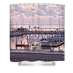Bay Sunrise Shower Curtain
