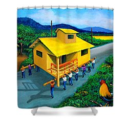Bayanihan Shower Curtain