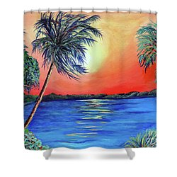 Baycrest Shower Curtain by Ecinja Art Works