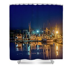 Bayfront Morning Shower Curtain