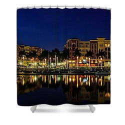 Bayfront Shower Curtain by Sean Allen