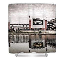 Football Stadium Sketch Shower Curtain
