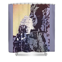 Bayon Temple- Angkor Wat, Cambodia Shower Curtain