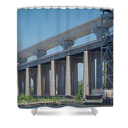 Bayonne Bridge Raising #5 Shower Curtain