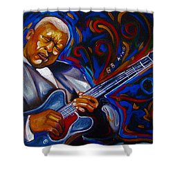 b.b KING Shower Curtain