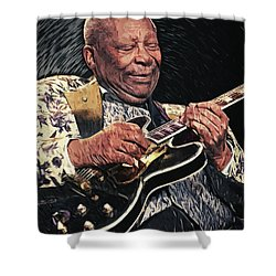B.b. King II Shower Curtain