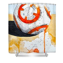 BB8 Shower Curtain