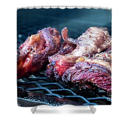 Bbq Beef 1 Shower Curtain