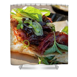 Bbq Beef 3 Shower Curtain