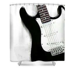 Electric Guitar Shower Curtain