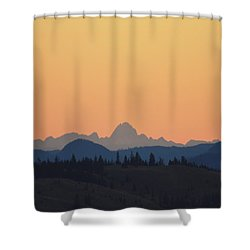 B C Dawn Shower Curtain