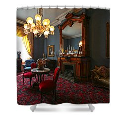 Be Gone Before Nightfall Shower Curtain