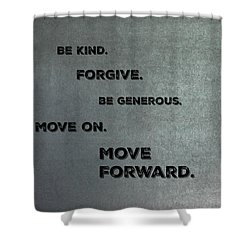 Be Kind #1 Shower Curtain