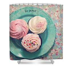 Be Sweet Shower Curtain