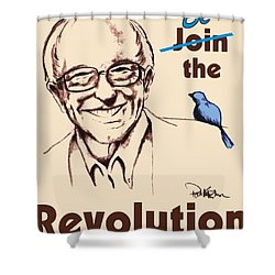 Be The Revolution Shower Curtain