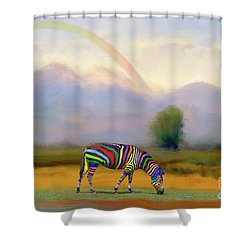 Be Transformed By The Renewal Of Your Mind Shower Curtain by Bonnie Barry