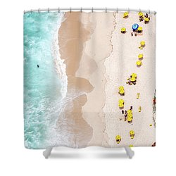 Be Unique Shower Curtain by Diego Baravelli