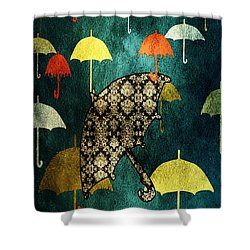 Be Yourself - Large Format Shower Curtain