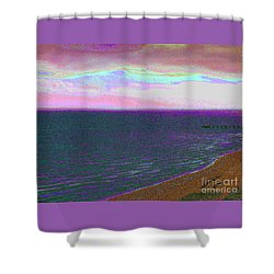 Beach 1002 Shower Curtain