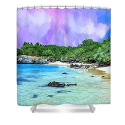 Beach 69 Big Island Shower Curtain