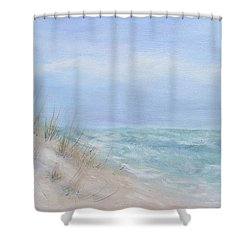 Beach Access One At Shell Island Shower Curtain