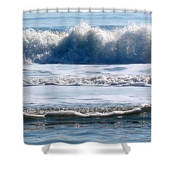 Beach At Iop Shower Curtain