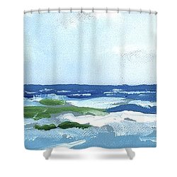 Beach At Isle Of Palms Two Shower Curtain