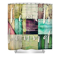 Beach Bound Shower Curtain by Mindy Sommers