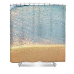Beach Caress Shower Curtain by Glenn Gemmell
