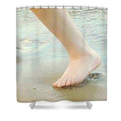 Beach Shower Curtain