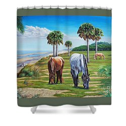 Beach Combers Shower Curtain