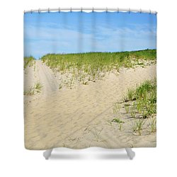 Beach Crossroads Shower Curtain