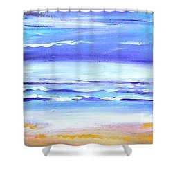 Beach Dawn Shower Curtain