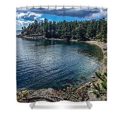 Beach Days Shower Curtain by William Wyckoff
