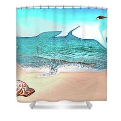 Beach Dream Shower Curtain