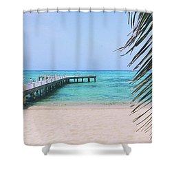 Beach Dreams Shower Curtain by Iryna Goodall