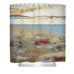 Shower Curtain featuring the photograph Beach Dunes by William Wyckoff