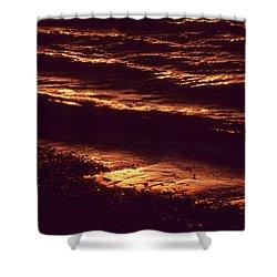 Beach Fire Shower Curtain