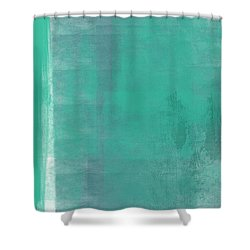 Beach Glass 2 Shower Curtain