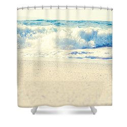 Shower Curtain featuring the photograph Beach Gold by Sharon Mau